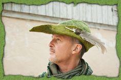 Handgefilzter Hut für Bogenschützen