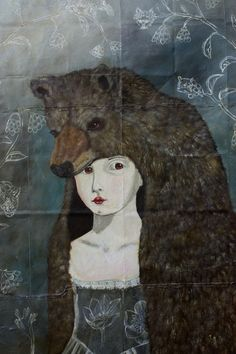 I came across Anne Siems work a while ago work and keep meaning to share it. Her paintings and drawings are so beautifully worked and I gues...