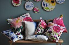 Floral decor home textiles