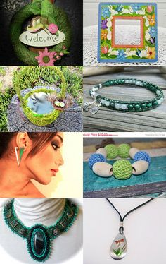 Green Pleasures by Jo Stamatakis on Etsy--Pinned with TreasuryPin.com