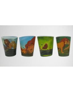 2 oz. Lion King Movie Mini Glass Set