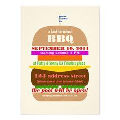 Interesting BBQ flyer.