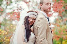 Backyard Bohemian Wedding: Lindsey + Andrew