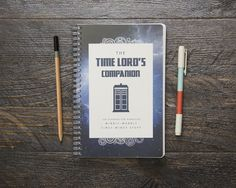 The Time Lord's Companion Planner - Thick / Medium / Choose Your Starting Month