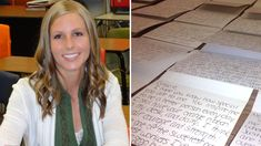 Teacher Brittni Darras decided to let each of her students know how special they are by writing individualized letters to them following a teen's attempted suicide.