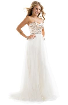 Sexy Sheath Dress in Flowing Tulle   FLIRT Collection.