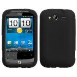 Soft Silicone Skin Case(Black) For HTC Wildfire S(CDMA), Wildfire S(GSM) - Soft Silicone Skin Case(Black) For HTC Wildfire S(CDMA), Wildfire S(GSM)    COMPATIBLE MODELS - HTC: Wildfire S (CDMA), Wildfire S (GSM) (NOTE: Accessory ONLY, Device not incl