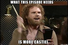 Castiel [I love the episodes he's not in too, though! xD ]