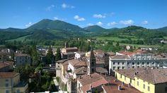 Veduta del centro storico di Umbertide, visto dalla torre della rocca. (1)