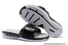 the best attitude aa93a 7f97f Cheap Black White Nike Air LeBron Slide 2.0 Nike Lebron, Lebron 11, Lebron  James