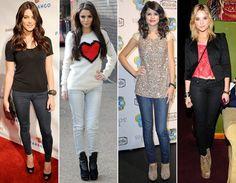 A Ashiley greene (Alice Cullen) Arrasa em Looks simples assim como a Selena Gomez também!