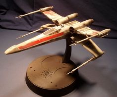 AMT/Ertl electronic X-wing Fighter.