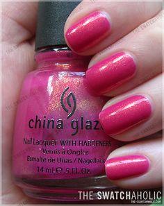 China Glaze – Strawberry Fields