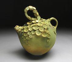 Yumiko Goto Mossy Teapot