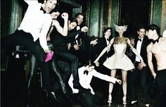 Andres Velencoso Segura, Jon Kortajarena, Oriol Elcacho, Antonio Navas & More by Mario Testino for Spanish Vogue