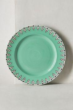 Elka Dinnerware #anthropologie-very cute. I need more cabinet space