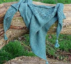 Ravelry: Bare Branches Shawl pattern by Irina Pi