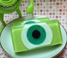 Mike with an Eye Glycerin Soap by IvyCoreenBathBody on Etsy, $5.00