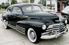 1948 Chevrolet Fleetline Sedanette Maintenance of old vehicles: the material for new cogs/casters/gears/pads could be cast polyamide which I (Cast polyamide) can produce
