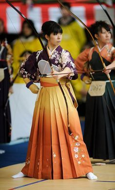 Kyudo kimono 着物 japa by Traditional Clothing of our World