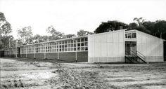 Boronia State School  Date(s) of creation: [1963]  photograph : gelatin silver ; 17 x 31 cm.