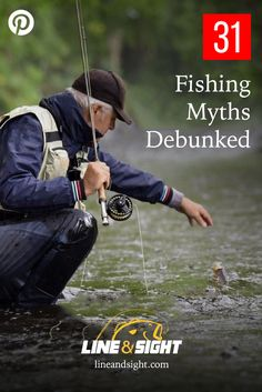 The most common fishing myths of all-time are now officially debunked