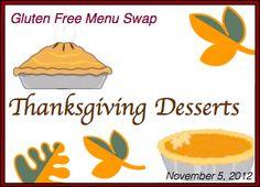 GF Thanksgiving Desserts