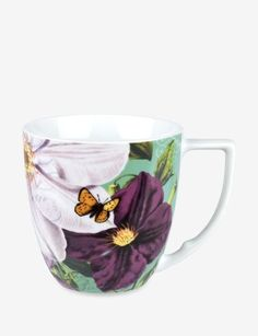 Waechtersbach - 'Accents Impressions' Collection - Mug: White Clematis, 1 of 4