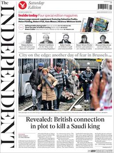 El último número impreso de The Independent. The last number of british newspaper The Independent. From Paper Papers