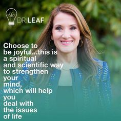 Build health and life into your minds! The Lord Is Good, Joy Of The Lord, Dr Caroline Leaf, Leaf Quotes, Our Father In Heaven, Health Psychology, Healing Words, Choose Life