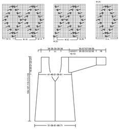 """DROPS 91-10 - DROPS Lange Jacke mit Lochmuster in """"Vivaldi"""" und Schal mit einer gewobenen Struktur. - Free pattern by DROPS Design"""