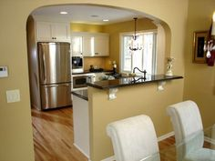 Install An Arch Between West Rooms For Visual Interest And Room Division