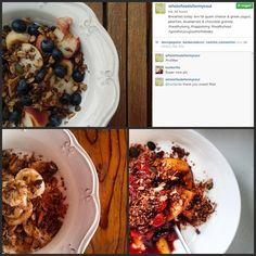 Já viram quem se tem deliciado com a nossa granola de chocolate? A imaginação e a criatividade é o limite. Podemos sempre ter uma refeição bonita, saborosa e saudável. No Whole Foods for My Soul (http://instagram.com/wholefoodsformysoul), onde se acredita que somos aquilo que comemos, a viagem pela alimentação saudável passa pelas nossas granolas (https://www.facebook.com/pages/Whole-Foods-for-my-Soul/563700863717277?sk=info)