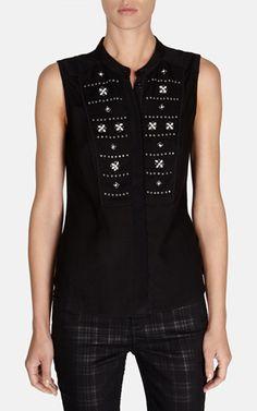 Karen Millen - Mooi shirt met kraaltjes