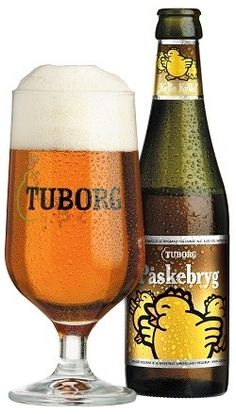 Cerveja Tuborg Påskebryg, estilo Vienna Lager, produzida por Carlsberg, Dinamarca. 5.7% ABV de álcool.