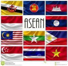 asean flag - Free Large Images