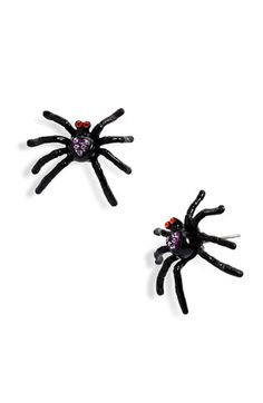 betsey johnson spider earrings - Google Search