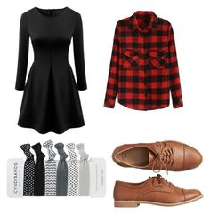 """""""Dressy Casual"""" by catwhiskers91 ❤ liked on Polyvore featuring Gap and WithChic"""