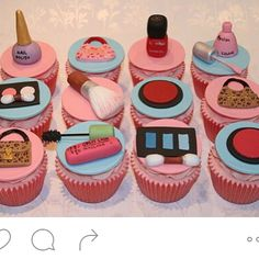 Cool awesome fab cupcakes that are makeup