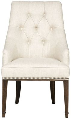 Vanguard Furniture: W780A Brinley Tufted Arm Chair