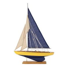 Breakwater Bay Fairway Decorative Sailboat Figurine