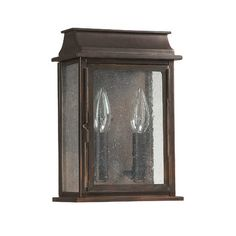 "Capital Lighting Bolton 2 Light Wall Lantern & Reviews | WayfairWeights & Dimensions 11"" H x 7.4"" W x 4.35"" D Size Overall: 11"" H x 7.4"" W x 4.35"" D 13.75"" H x 9.25"" W x 5.45"" D Size Overall: 13.75"" H x 9.25"" W x 5.45"" D Bracket dimensions: 8.75"" L x 6.6"" W x .35"" D Clearance from the middle of the plate to the bottom of the fixture: 5.75"" Features Bulb Included: No	 Bulb Wattage: 60 Watts (W) Number of Lights: 2 $144"