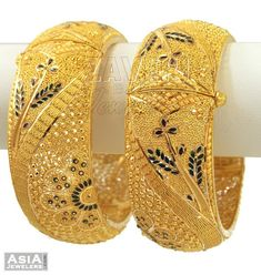 Gold Bangles Design, Gold Earrings Designs, Necklace Designs, Kids Jewelry, Gold Jewelry, Jewlery, Gold Necklace, Gold Initial Pendant, Gold Detector