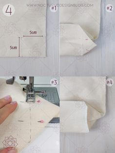 Costura fácil paso a paso. Aprender a coser. Sewing Hacks, Sewing Tutorials, Sewing Projects, Diy Bag Designs, Diy Bags Purses, Diy Tote Bag, Bag Patterns To Sew, Fabric Bags, Handmade Bags