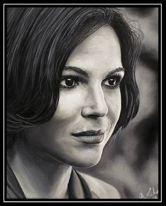 Amazing portrait of Lana Parilla sent in by Christine Ertmer. Stunning work.