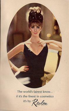 Revlon Advert | Flickr - Photo Sharing!; model, Wilhelmina.