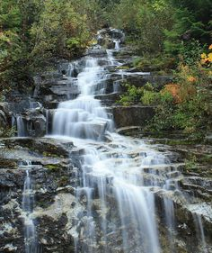 Waterfall, Williams Creek, British Columbia, Canada - by Soren Hedberg, via Flickr