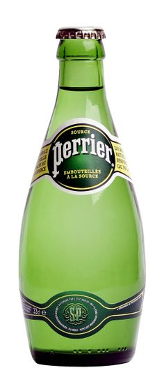 perrier..with a slice of lime..Refreshing