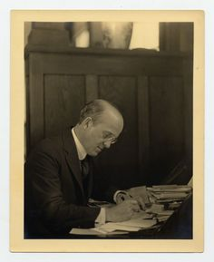 Oswald Theodore Avery (1877-1955) was a distinguished Canadian-born bacteriologist and research physician and one of the founders of immunochemistry. He is best known for his discovery that deoxyribonucleic acid (DNA) serves as genetic material.