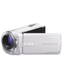 Sony CX250 Full HD Camcorder - White
